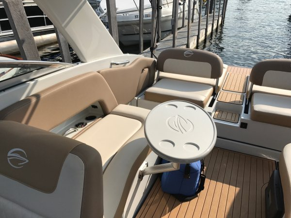 Every Crownline boat is built with painstaking attention to detail in order to provide its owner or operator with the maximum comfort, convenience and operating efficiency possible within its design parameters.