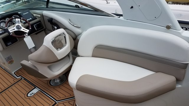 A single engine stern drive is sometimes called an Inboard/Outboard, reflecting its design. It is designed so that its engine is inside and enclosed by the boat, while the propulsion system (out drive) is outside of the boat and in the water.