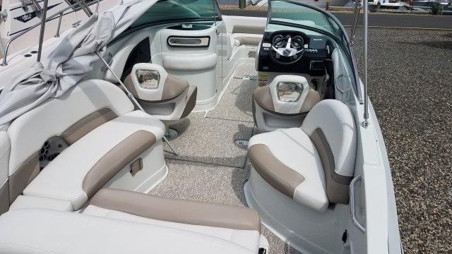 A E24 XS - Sterling is a Power and could be classed as a Bowrider,  or, just an overall Great Boat!