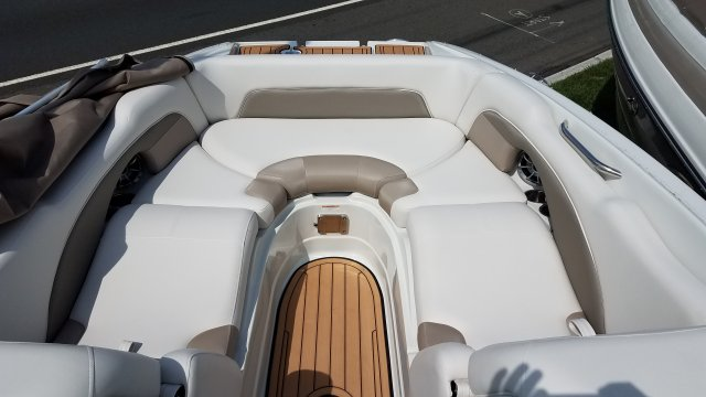 A E26 XS - Moonrock is a Power and could be classed as a Bowrider,  or, just an overall Great Boat!