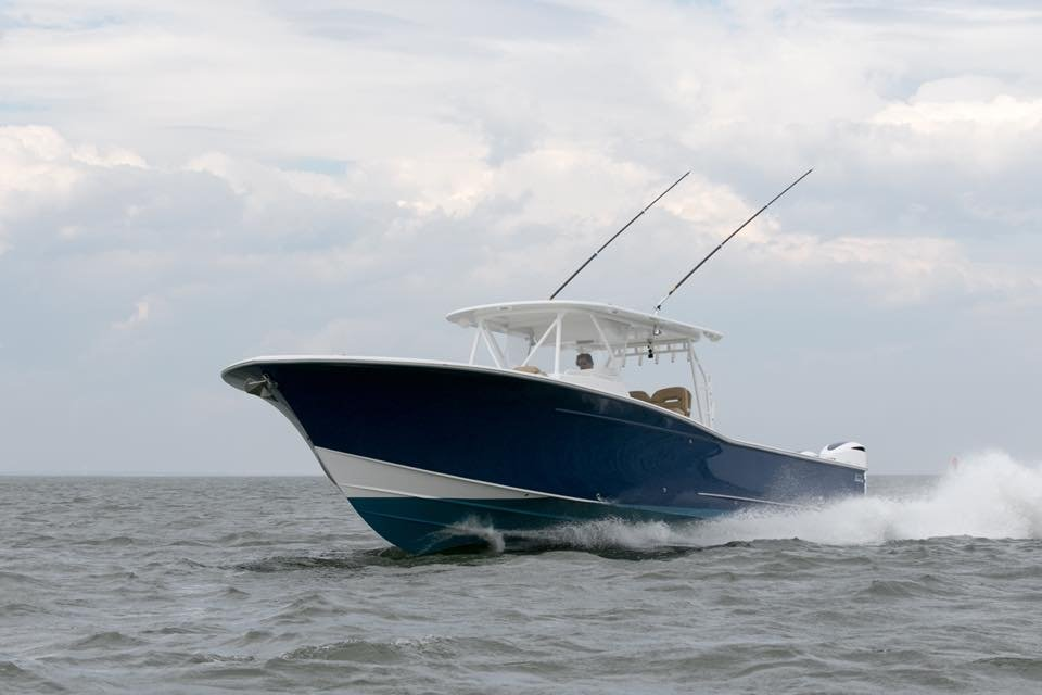Davis firmly believes that the best boats are built start to finish in one facility by expert craftsmen following the same set of high standards. Davis center consoles and sportfishing yachts are completely engineered, manufactured, finished and outfitted in one factory. From the initial specifications and engineering to fiberglass lay up, to the exquisite interior joinerwork, to the final welds on the tuna tower, each component is meticulously built with the watchful eyes of the Davis team. Everything fits cleanly and smoothly, creating a boat that is lighter, stronger, faster and more reliable than one built of bits and pieces from outside suppliers. Even hidden areas are perfectly finished. The engine room is fabricated as meticulously as the outside hull and finished with the same attention to detail. That is sure to bring you and your family a lifetime of pleasure and enjoyment on the water.